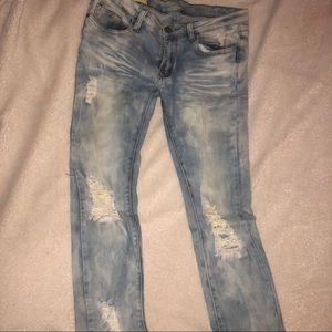 Denim - Stretch Skinny Jeans